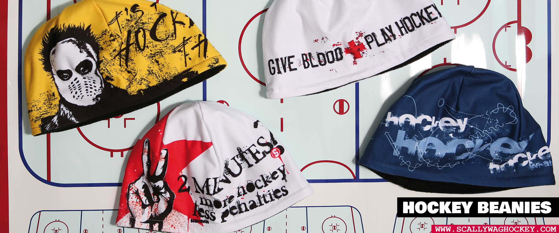 SCALLYWAG® Hockey Beanies Header