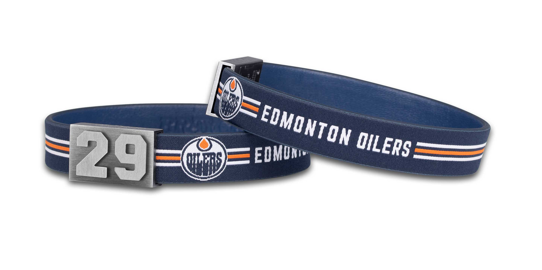 Leon Draisaitl Armband von BRAYCE® im Edomton Oilers Style (NHL® Kollektion)