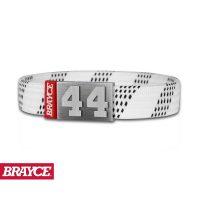 BRAYCE® Armband Hockey Lace weiß