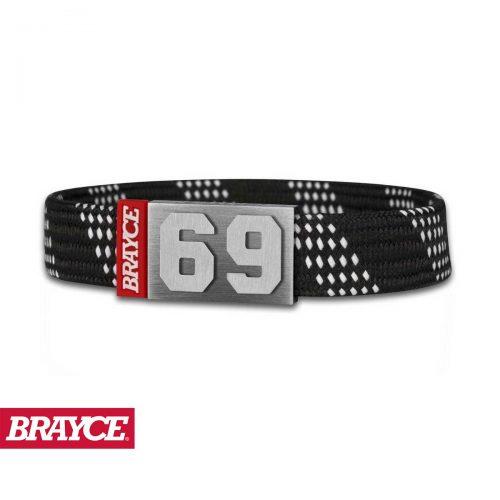 BRAYCE® Armband Hockey Lace schwarz