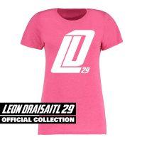 Eishockey T-Shirt von SCALLYWAG® Modell LD29 Leon Draisaitl Girls Pink