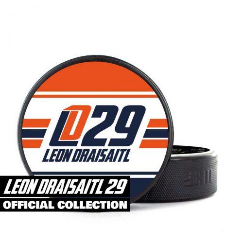 Eishockey Puck von SCALLYWAG® Modell LEON DRAISAITL LD29