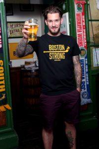 SCALLYWAG® HOCKEY T-Shirt BOSTON STRONG