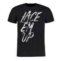 Eishockey T-Shirt von SCALLYWAG® Modell LACE EM UP