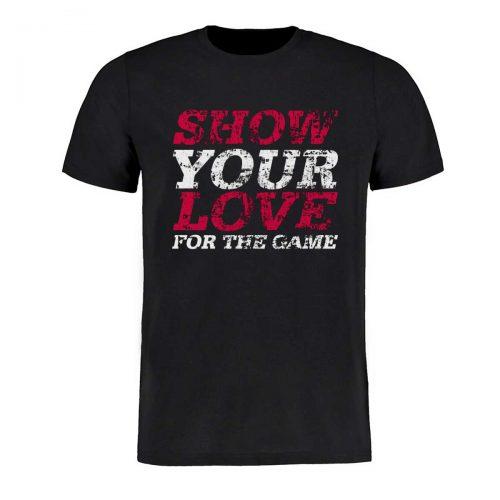 Eishockey T-Shirt von SCALLYWAG® Modell SHOW YOUR LOVE