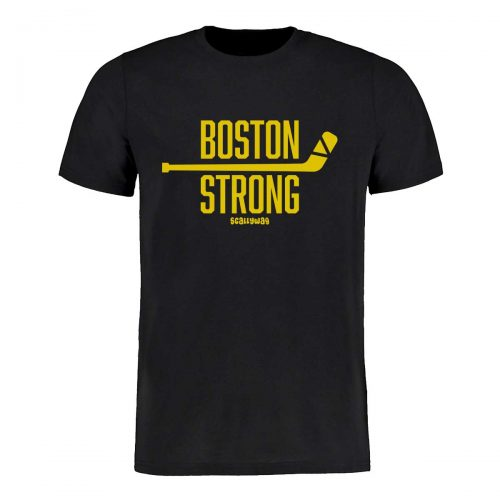 SCALLYWAG® Eishockey T-Shirt Boston Strong