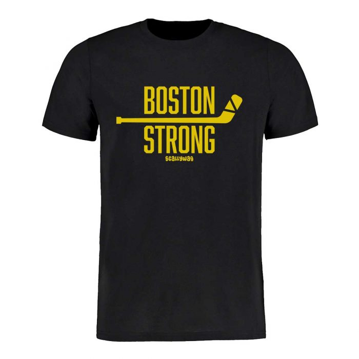 SCALLYWAG® Eishockey T-Shirt Boston Strong