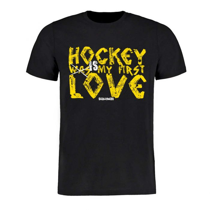Eishockey T-Shirt von SCALLYWAG® Modell FIRST LOVE