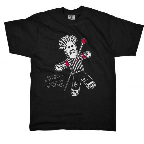"""Das Hockey T-Shirt """"Voodoo Ref"""" von SCALLYWAG"""