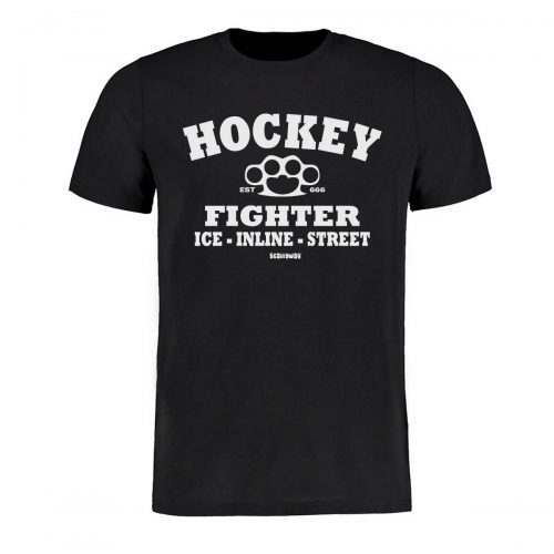 Eishockey T-Shirt von SCALLYWAG® Modell HOCKEY FIGHTER