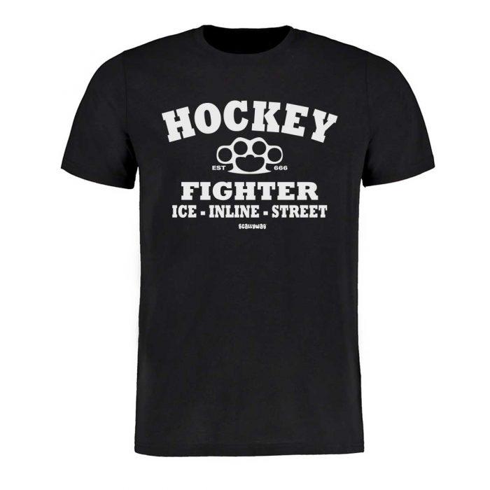 Eishockey T-Shirt von SCALLYWAG® Modell HOCKEY FIGHTER