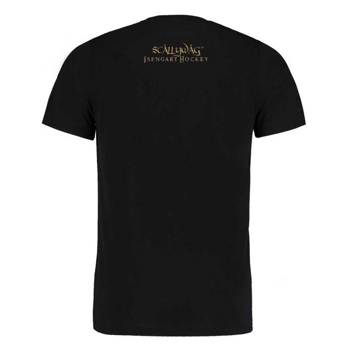 Eishockey T-Shirt von SCALLYWAG® Modell LORD OF THE RINKS Rückseite.