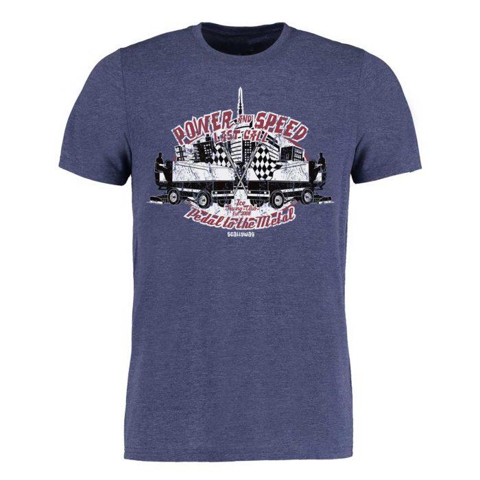 Eishockey T-Shirt von SCALLYWAG® Modell ICE RACING ZAMBONI.