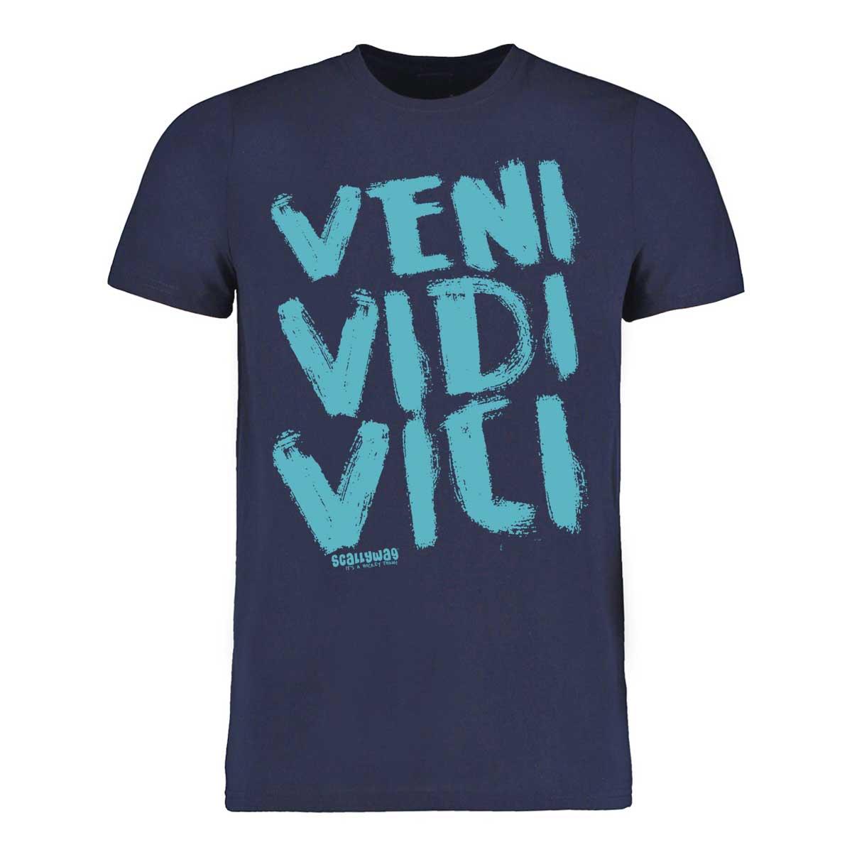 Eishockey T-Shirt von SCALLYWAG® Modell VENI VIDI VICI.