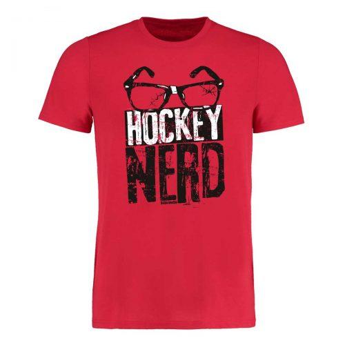 Eishockey T-Shirt von SCALLYWAG® Modell HOCKEY NERD