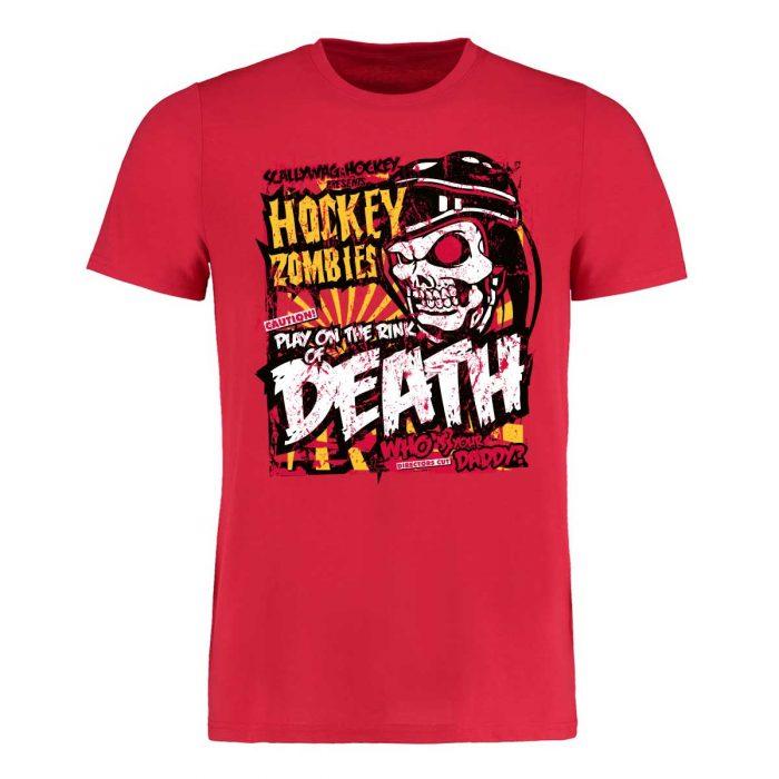 Eishockey T-Shirt von SCALLYWAG® Modell HOCKEY ZOMBIE