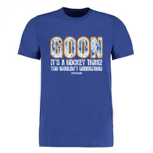 Eishockey T-Shirt von SCALLYWAG® Modell GOON
