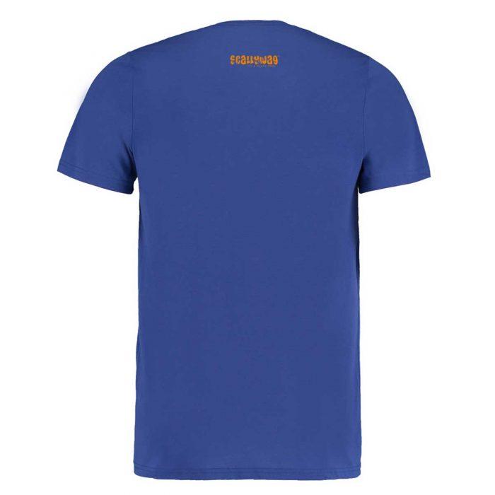 Eishockey T-Shirt von SCALLYWAG® Modell GOON Rückseite