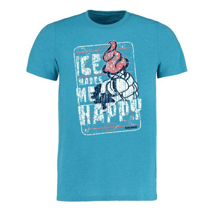 Eishockey T-Shirt von SCALLYWAG® Modell HAPPY ICE.