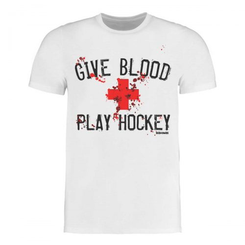 SCALLYWAG® Eishockey T-Shirt GIVE BLOOD PLAY HOCKEY