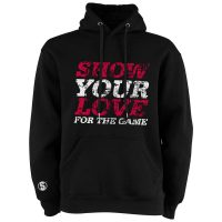 Eishockey Hoodie von SCALLYWAG® Modell SHOW YOUR LOVE.
