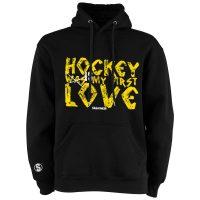 Eishockey Hoodie von SCALLYWAG® Modell FIRST LOVE.