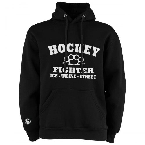Eishockey Hoodie von SCALLYWAG® Modell HOCKEY FIGHTER.
