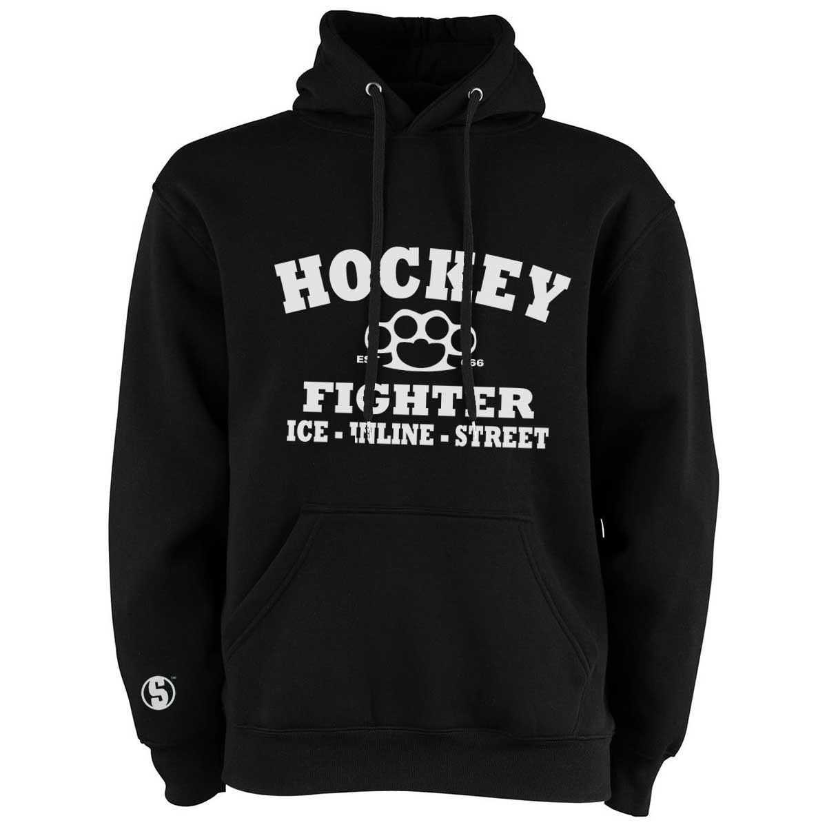Eishockey Hoodie von SCALLYWAG® Modell HOCKEY FIGHTER.