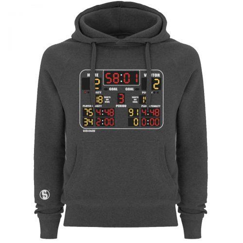 Eishockey Hoodie von SCALLYWAG® Modell SCOREBOARD.