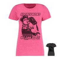 Eishockey T-Shirt von SCALLYWAG® Modell HOCKEYMOMS Girls Pink