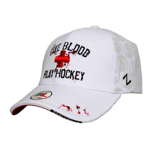 Eishockey Cap von SCALLYWAG® GIVE BLOOD.