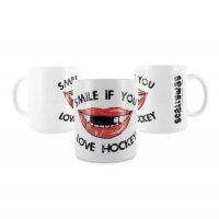 Eishockey Tasse von SCALLYWAG® Modell SMILE
