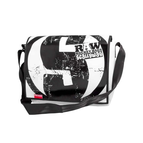 Eishockey Messenger Bag von SCALLYWG® Modell RAW HOCKEY.