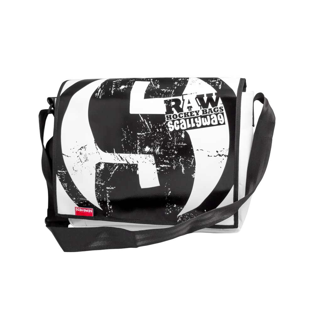 Eishockey Messenger Bag von SCALLYWG® Modell RAW HOCKEY.