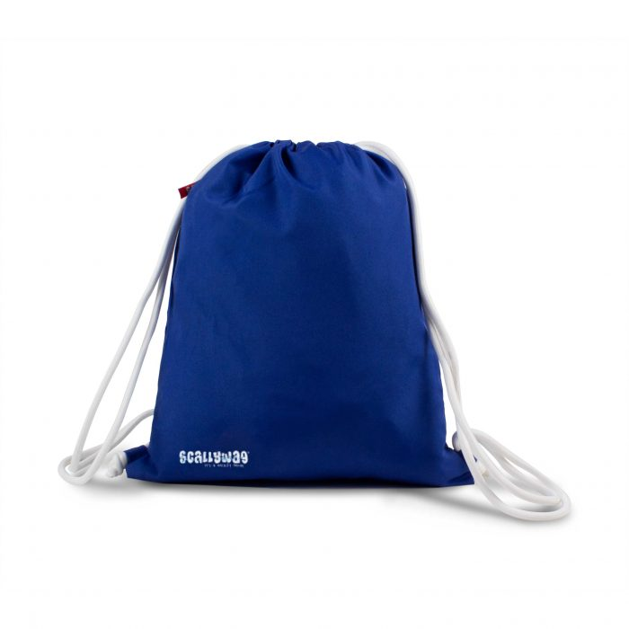 Scallywag® Eishockey Gymsack in blau Rückseite.