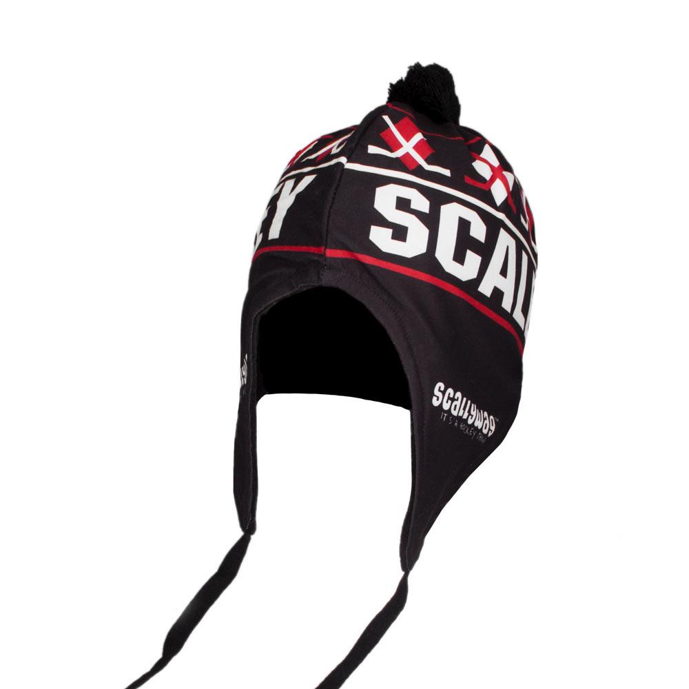 Eishockey Mütze von SCALLYWAG® CROSSED STICKS.