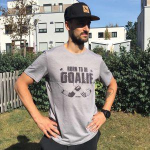 SCALLYWAG® HOCKEY T-Shirt DENNIS ENDRAS BORN TO BE A GOALIE