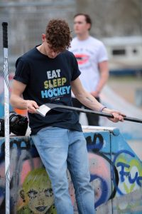 SCALLYWAG® HOCKEY T-Shirt EAT SLEEP HOCKEY