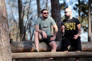 SCALLYWAG® HOCKEY T-Shirt FIRST LOVE