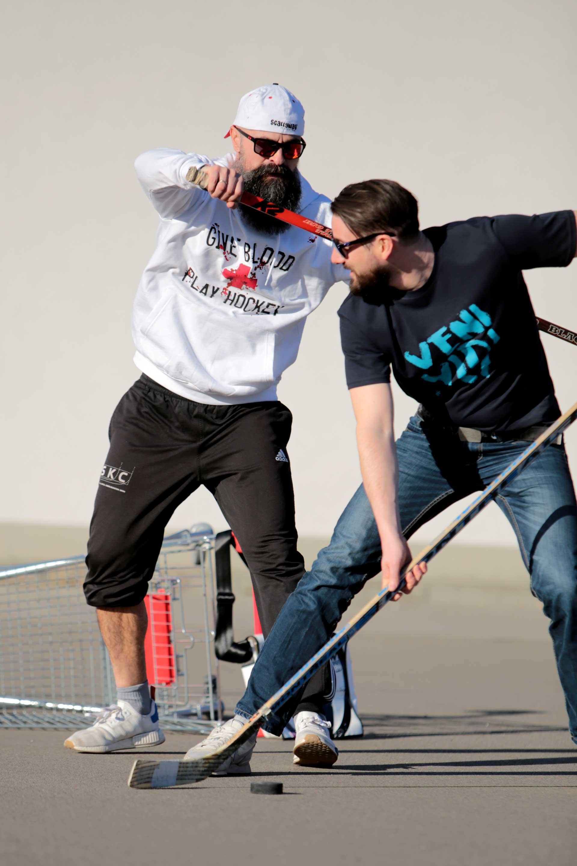 SCALLYWAG® Eishockey T-Shirt Veni Vidi Vici