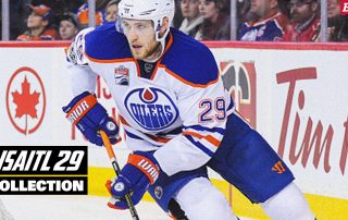 BRAYCE® SCALLYWAG® Leon Draisaitl LD29 Official Collection Header