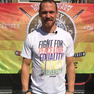 SCALLYWAG® HOCKEY T-Shirt FIGHT FOR