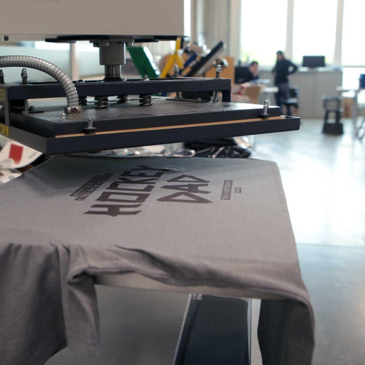 Produktion T-Shirt Hockeydad