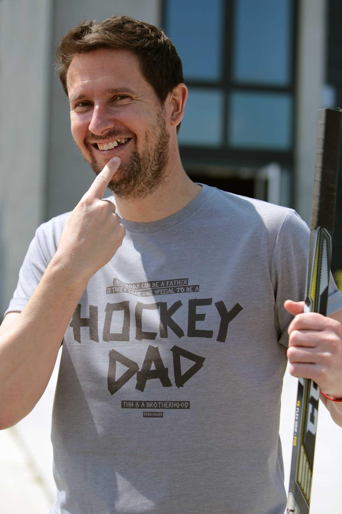 SCALLYWAG® Eishockey T-Shirt Hockeydad