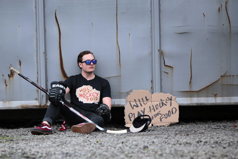 SCALLYWAG® Eishockey T-Shirt Hockey Food
