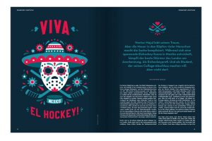 SCALLYWAG® HOCKEY T-Shirt DUMP & CHASE VIVA EL HOCKEY