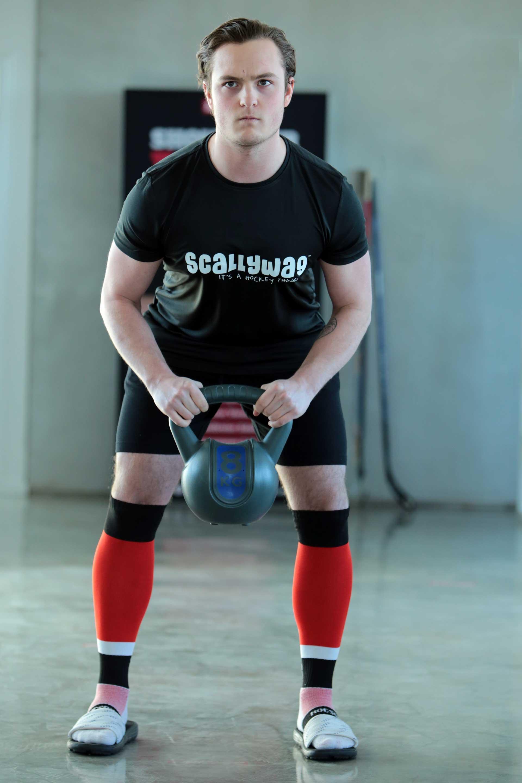 Eishockey Performance T-Shirt von SCALLYWAG®
