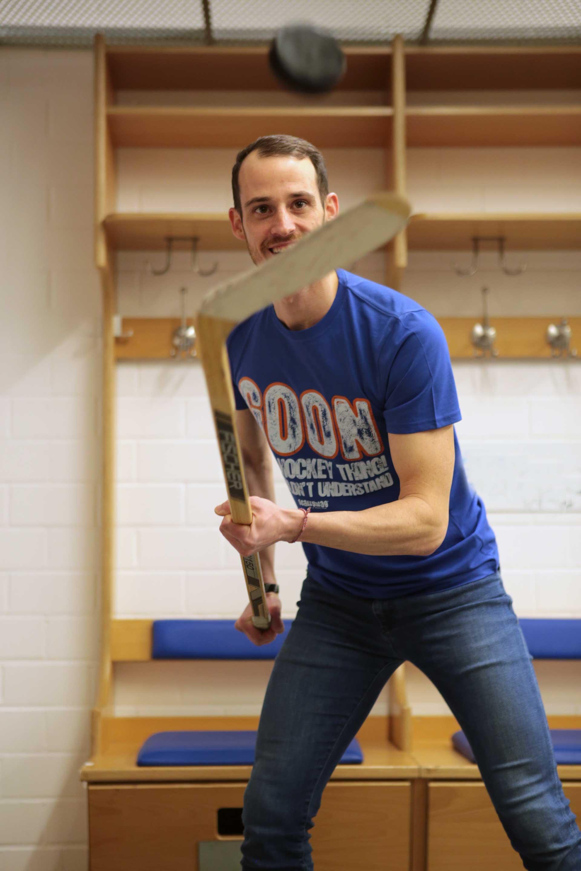 SCALLYWAG® Eishockey T-Shirt Modell GOON.
