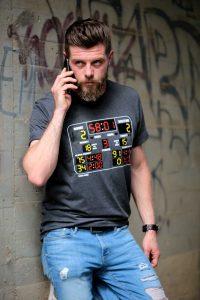 SCALLYWAG® HOCKEY T-Shirt SCOREBOARD