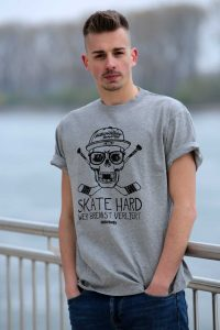 SCALLYWAG® HOCKEY T-Shirt SKATE HARD